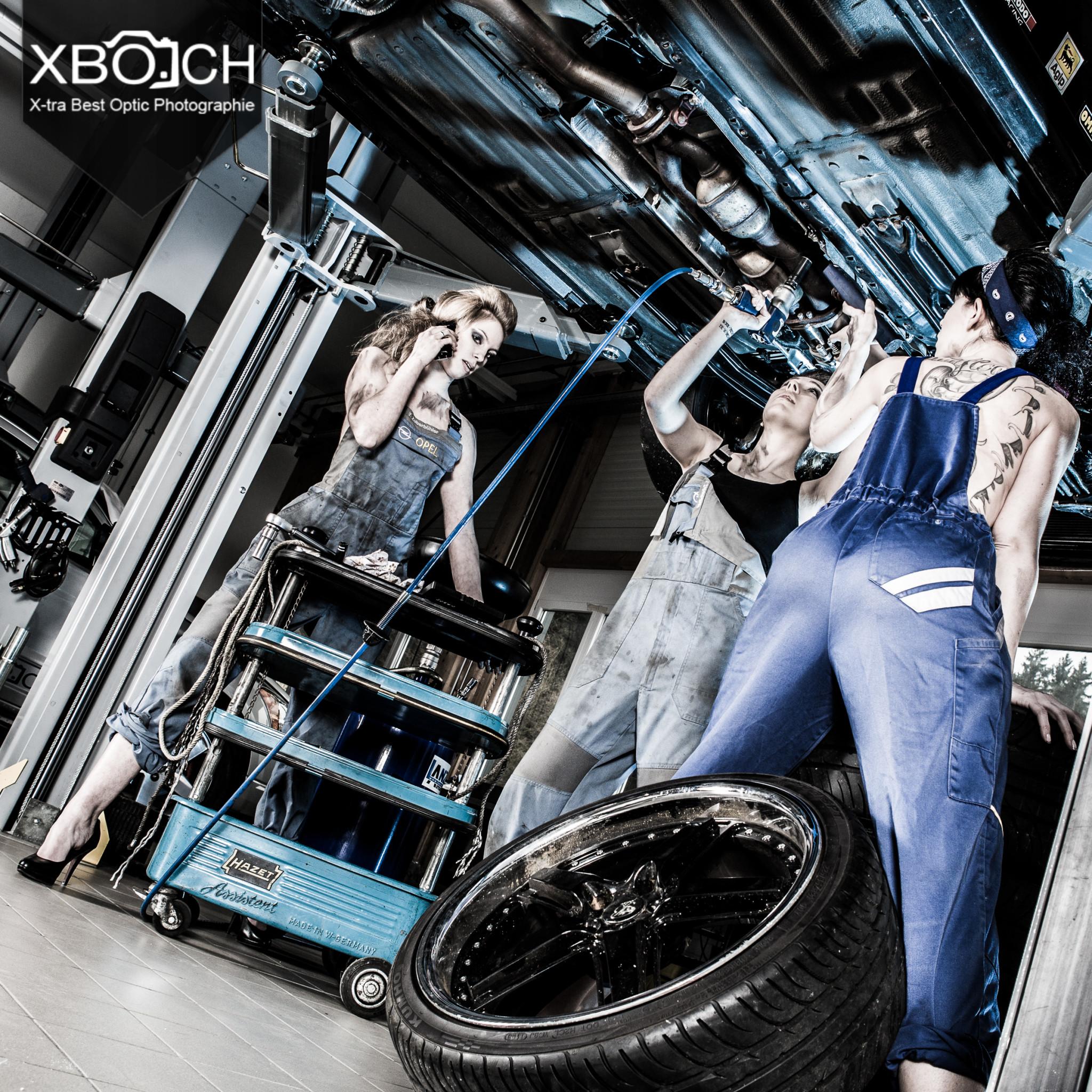 Shooting in Autogarage XBO.CH Fotografie (9 von 59)